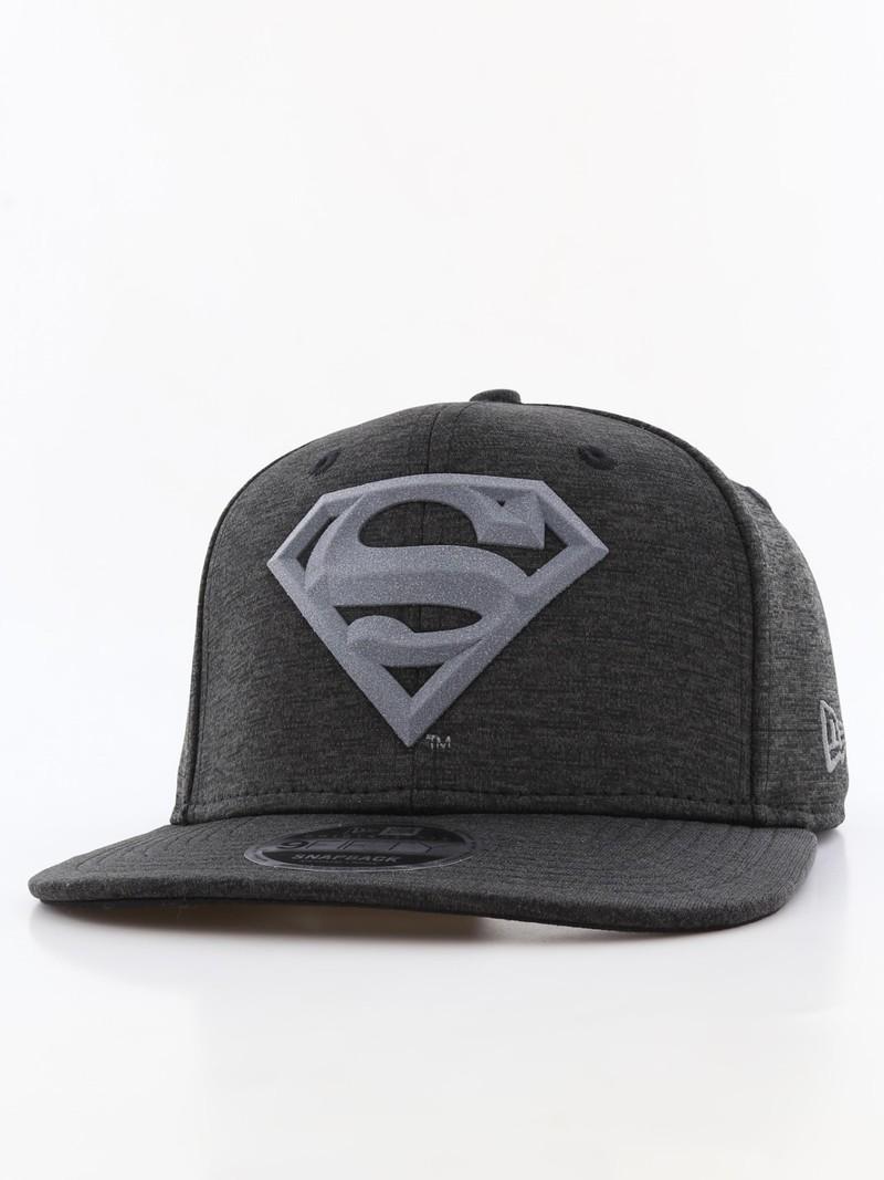 65b7892eee310 ... top quality new era concrete jersey superman mens cap black 151c4 73fa1