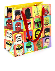 USTUDIO TOASTED HEROES & VILLAINS GIFT BAG SMALL