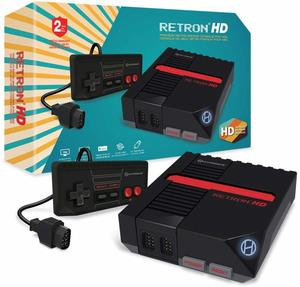 Hyperkin Retron 1 HD Black Console for NES + 150 Retro Games