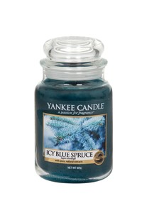YANKEE CANDLE CLASSIC JAR CANDLE ICY BLUE SPRUCE L
