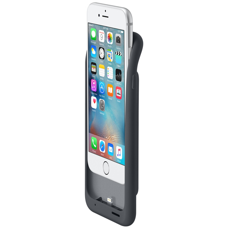 Apple Smart Battery Case Charcoal Grey iPhone 6/6S