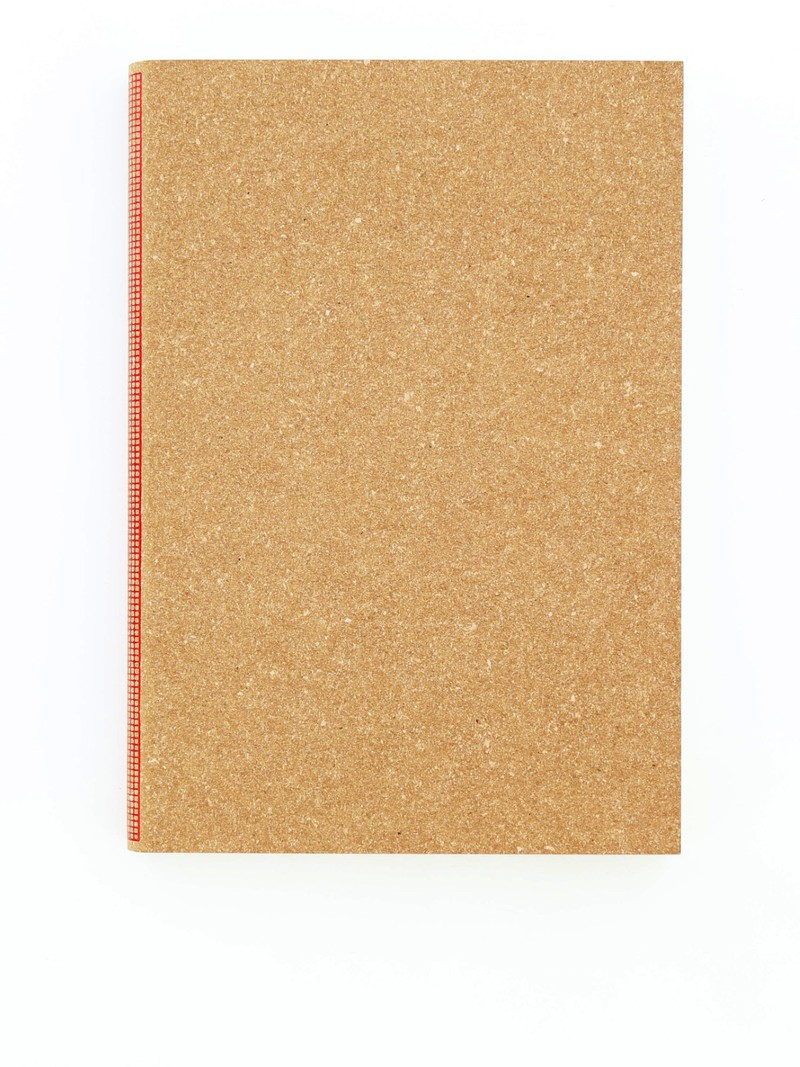 Happily Ever Paper Square & Brown Notebook 13.5 x 19.5cm