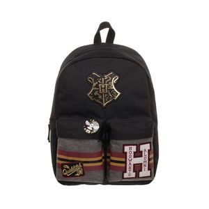 Bioworld Harry Potter Hogwarts Patch Backpack