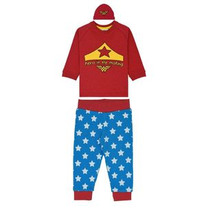 Wonder Woman Babies Pyjamas Grey