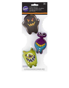 Wilton Cookie Cutter Monster Set [3 Pieces]