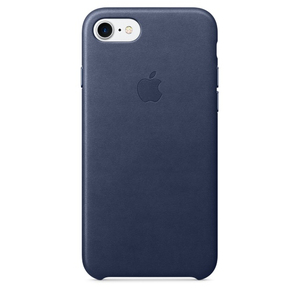 Apple Leather Case Midnight Blue iPhone 7