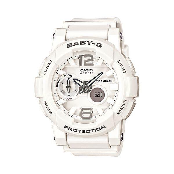 Casio Bga 180 Baby G Analog Digital Watch White