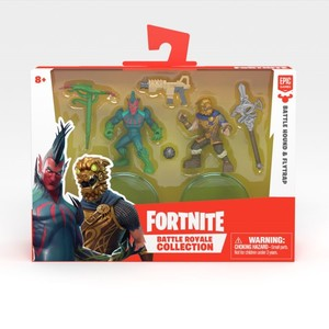 Fortnite Battle Royale Collection S2 Battlehound & Flytrap 2 Inch Duo Pack