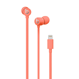 Beats By Dr Dre Urbeats3 Coral In-Ear Earphones with Lightning Connector