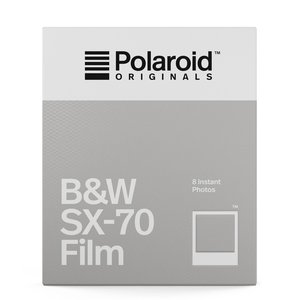 Polaroid B&W Film for SX-70 Camera