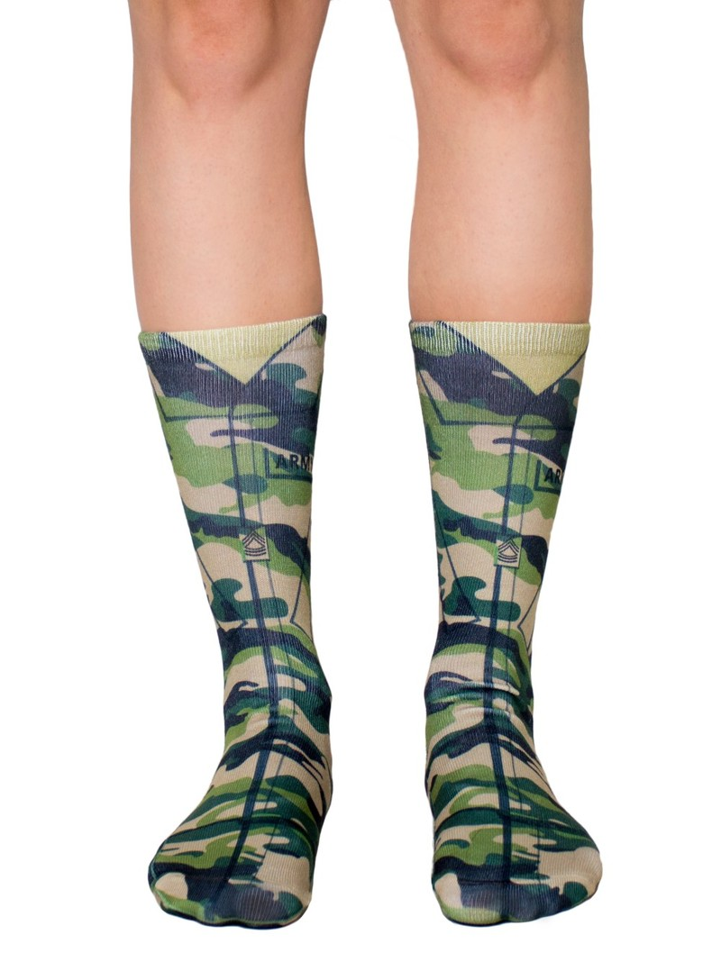 Living Royal Army Women's Crew Socks