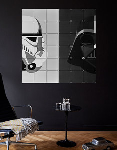 IXXI Star Wars Stormtrooper & Darth Vader Wall Decoration