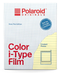 Polaroid Color Film for i-Type Note This Edition