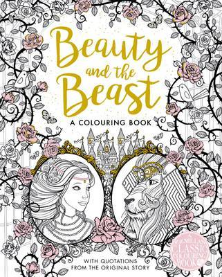 The Beauty and the Beast Colouring Book | 9 to 12 Years | Kids + ...