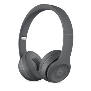 Beats Solo3 Neighborhood Collection Asphalt Grey Wireless On-Ear Headphones