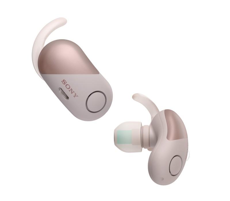de128a14cdc Sony WF-SP700N Sports Wireless Noise Cancelling In-Ear Earphones Pink |  In-Ear Headphones | Headphones | Headphones + Audio | Electronics &  Accessories ...