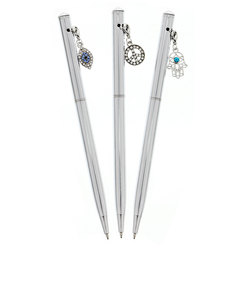 Ice London Peace Charm Trio Pen White