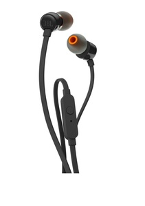 JBL T110 Black In-Ear Earphones