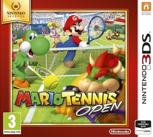 Mario Power Tennis Open Selects 3Ds