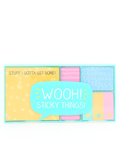 Happy Jackson Wooh Sticky Things Sticky Note