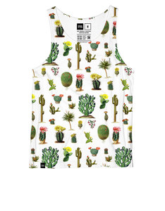 Dedicated AO Cactus Tank Top White