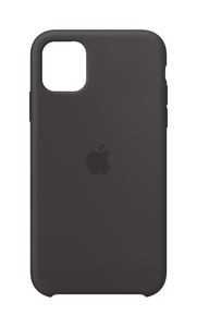 Apple Silicone Case Black for iPhone 11