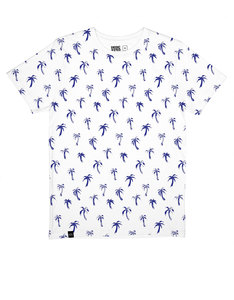 Dedicated Painted Palms White T-Shirt