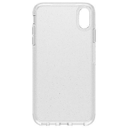 brand new de7f7 55797 OtterBox Symmetry Clear Stardust Case for iPhone XS Max