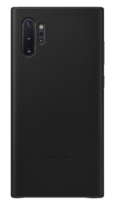 Samsung Leather Cover Black for Galaxy Note 10+