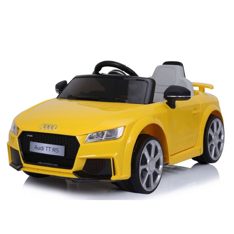 Audi TT Electric Ride-On Car Yellow