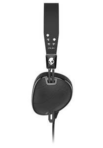 Skullcandy Knockout Quilted Black/Black/Chrome Mic3 Headphones