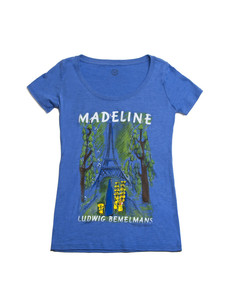 Madeline Vintage Royal T-Shirt Women's