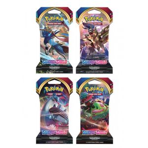 Pokemon TCG Sword & Shield 1 Sleeved Booster [Includes 1]