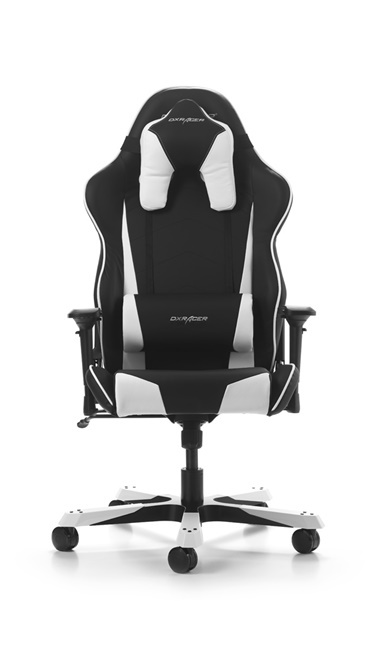 Amazing Dxracer Tank Series Black White Gaming Chair Gaming Chairs Gaming Accessories Gaming Virgin Megastore Machost Co Dining Chair Design Ideas Machostcouk