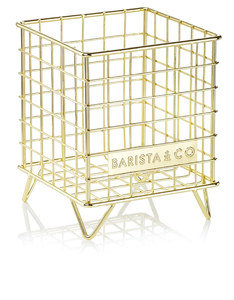 Barista & Co Pod Cage Electric Gold