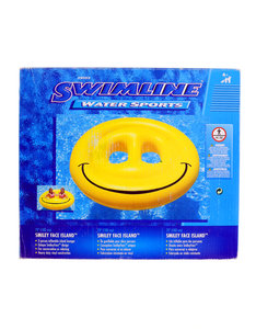 Swimline Smiley Face Island