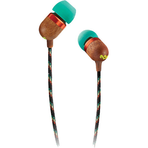 The House of Marley Smile Jamaica Rasta In-Ear Earphones