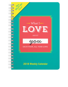 Knock Knock What I Love About You Fill In The Love Weekly Calendar