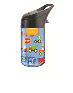 O2Cool Trucks Pattern Prism Brighton Mist N Sip Top 12 Oz Water Bottle