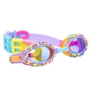Bling2O Swimming Goggles Penny Candy Peppermint Purple