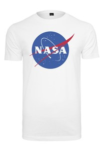 Mister Tee NASA White Men's T-Shirt M