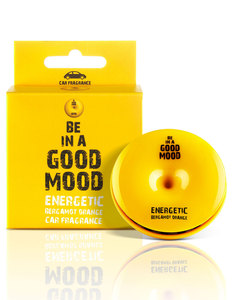 Good Mood Energetic Bergamot Orange Car Fragrance 0.52 Oz.