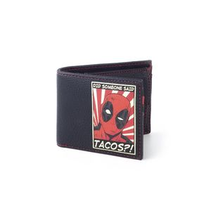 Marvel Deadpool Men's Bifold Wallet