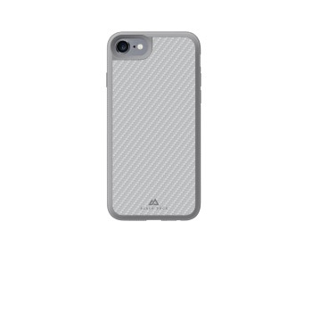 wholesale dealer 51d03 899f8 Hama Black Rock Material Case Real Carbon/Grey for iPhone 8/7