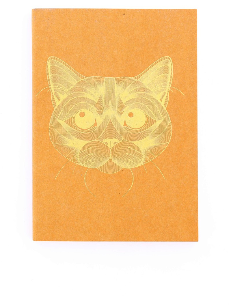 Happily Ever Paper Cat Notebook A5