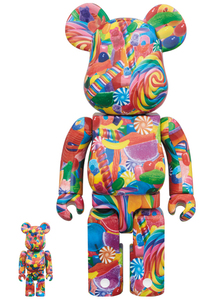 Bearbrick Dylan's Candy Bar 400/100 Percent Figures [Set of 2]