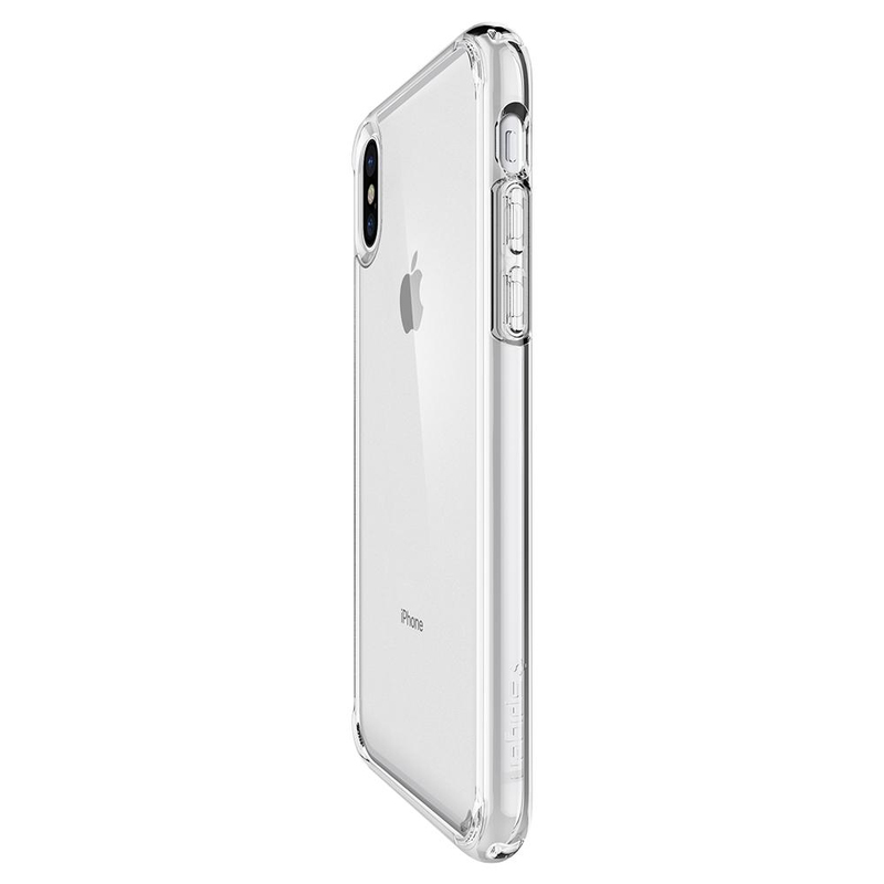 premium selection d1533 51f70 Spigen Ultra Hybrid Case Crystal Clear for iPhone X