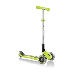 Globber Primo Foldable Lime Green Scooter