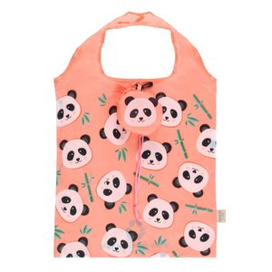 Something Different Penelope Panda Foldable Shopping Bag
