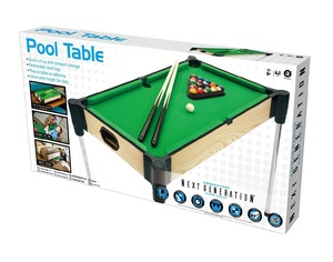 Merchant Ambassador 27 Inch Pool Table with Elevated Surface & Legs